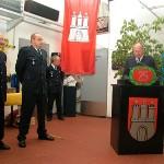 BROAR Manfred Kanzler bei der offiziellen Ehrung