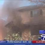 Kellerbrand in Brooklyn, massive Rauch- und Hitzeausbreitung aus dem Keller