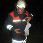 Holger Sohst bei einer Übung im August 2003