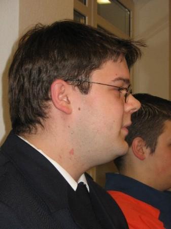 Direktionsjugendfeuerwehrwart Dominik Vogeler