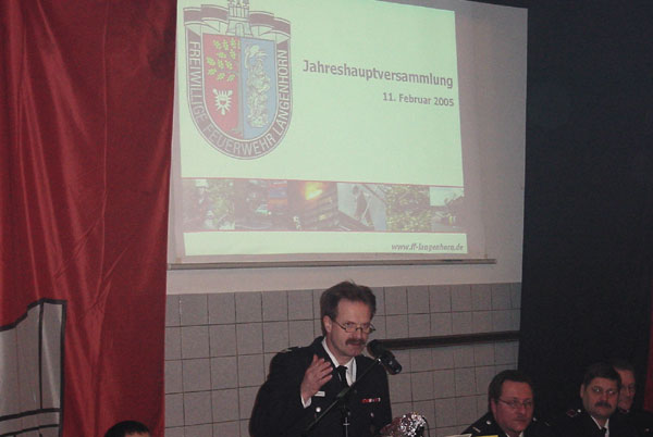 Wehrführer Holger Larsen