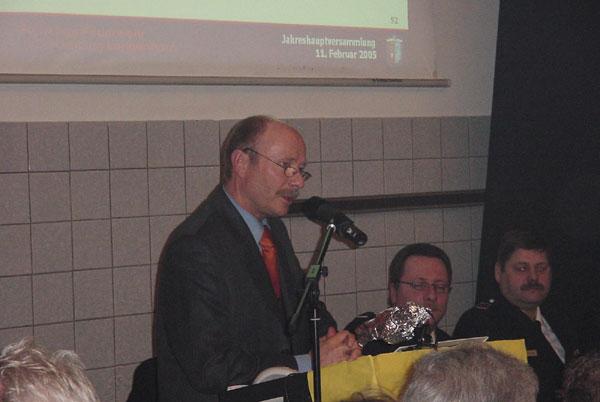 Ortsamtsleiter Günter Schwarz
