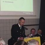 Der 1. Vorsitzende des Fördervereins der FF Langenhorn, Harald Meister