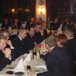 32 Mitglieder der Einsatzabteilung sowie 7 Kameraden der Ehrenabteilung fanden sich zur Generalversammlung 2005 ein.