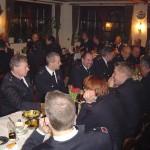 Gute Laune auf der Generalversammlung 2005 der Freiwilligen Feuerwehr Curslack.
