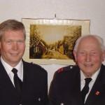 Siegfried Wulff von der FF Curslack war mit 86 Jahren der älteste Teilnahmer beim Ehrenabteilungstreffen 2005.
