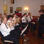 Der Musikzug der FF Neuengamme sorgte für gute Stimmung im Saal.