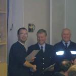 Ernennung zum Brandmeister: Thomas Diedrichs