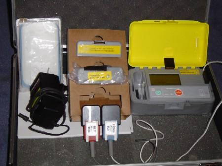 Der neue Trainings-AED ist seit Januar 2005 bei der FF Hamburg im Dienst.