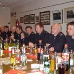 Gemeinsames Abendessen der Vierländer Führungskräfte