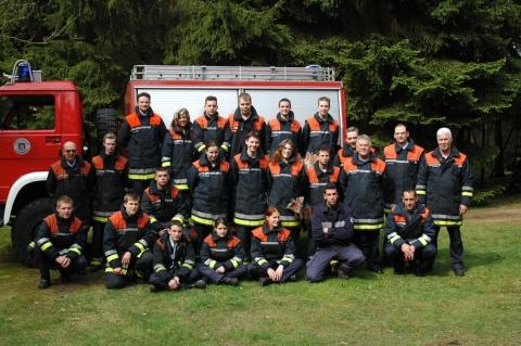 Die Gruppe der Galier mit den Ausbildern <br>© Bereichsausbildung Eimsbüttel<br