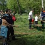 Unterhaltung für die Kinder durch die Jugendfeuerwehr <br>© FF Niendorf<br