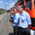 Die Organisatoren: JfW Eckhard Leurs und JfVW Axel Lender.