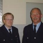 Die neue Führung der FF Marmstorf ab 1.7.2005.