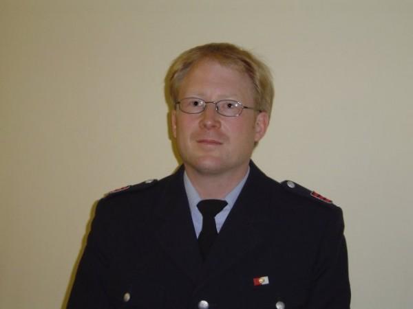 Sönke Witt, der neue Wehrführervertreter der FF Marmstorf
