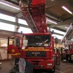 Fahrzeugausbau bei der Fa. Ziegler in Giengen/Brenz