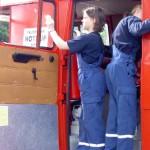 Fahrzeugpflege zwischen den Einsätzen