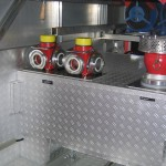 Im G1 (hinter der TS) befinden sich 2 Druckbegrenzungsventile, ein Saugkorb und ein Kellersauger