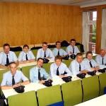 Die Teilnehmer der Abnahmeprüfung zum Truppmann der Freiwilligen Feuerwehren des Bereiches Bergedorf