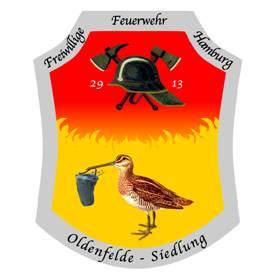 Wehrwappen der Freiwilligen Feuerwehr Oldenfelde-Siedlung