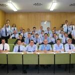 Alle Prüflinge, einige Bereichsausbilder, Fachlehrer der LFS und Prüfer der Truppmannprüfung
