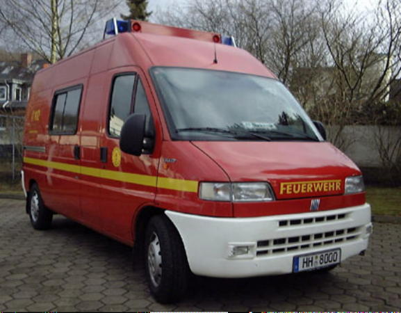Typfahrzeug ABC-ErkKw (Bund), hier der FF Blankenese. Insgesamt sind vier dieser Fahrzeuge bei der FF Hamburg im Einsatz.