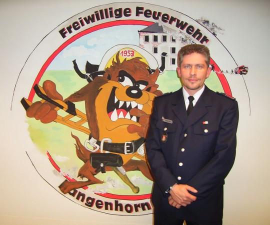 Stefan Laska ist neuer Wehrführer der FF Langenhorn-Nord