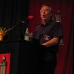 Ltd. Branddirektor Peer Rechenbach sieht eine personalstarke und leistungsfähige Freiw. Feuerwehr (©Björn Wendt)