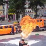 Fettexplosion auf dem neuen Wandsbeker Marktplatz