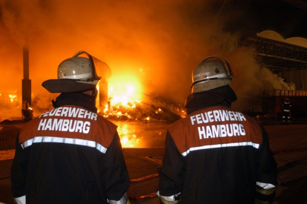 Erkundung der Brandausbreitung (c) Foto: RüGa