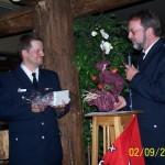 WF Rissen, D. Niemann, würdigt die Leistungen seines Vertreters