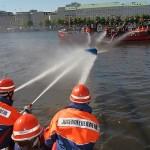 Löschboot-Wettbewerb der Jfen.<br>Foto: Thies Melfsen / FF Winterhude