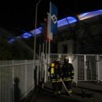 Vornahme mehrerer C-Rohre zur Brandbekämpfung <br>© FF Stellingen<br