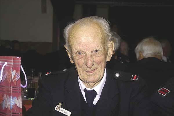 Walter Haecks, ältester anwesender Kamerad - Foto: Jörg Plagens