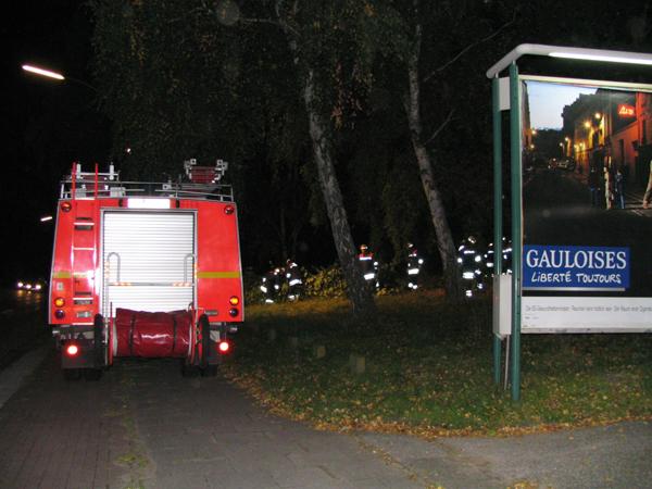 Das Gelände an der Stader Straße - Fahrtrichtung Harburg