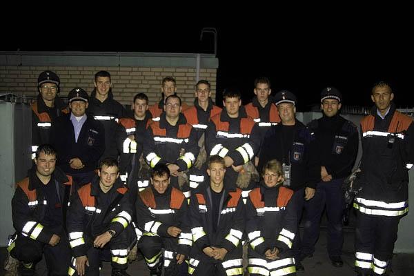 Die Teilnehmer aus den Wehren des Bereiches Bergedorf.