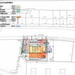 Der komplette Lageplan mit m²-Angaben.