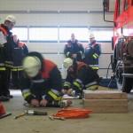 Der praktische Umgang mit dem hydraulischen Rettungsgerät