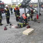 Einbinden von Notfallkoffer und Feuerlöscher