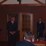 Innensenator Udo Nagel bei seiner Ansprache