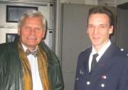 Bezirksamtsleiter Hinnerk Fock & WF Carsten Klein.Foto: Niels Blunck