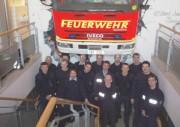 14 neue Truppführer für Hamburgs Freiwillige Feuerwehren.foto: Dieter Eschweiler FF Fuhlsbüttel