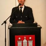 Hermann Jonas dankte in seiner Rede auch der Feuerkasse für die Spende der DVD-Player.