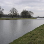 Das Hinterland in der Nähe von Dannenberg ist ebenfalls überflutet (Foto: B.Wendt)