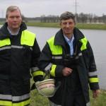 Landesbereichsführer Hermann Jonas und sein Vertreter Werner Burmester (Foto: B.Wendt)