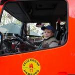 Feuerwehr im driving seat...