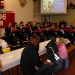 Livemusik in der Remise durch den Musikzug der FF Neuengamme.