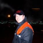 Oliver Stroisch, Wellingsbüttler Jugendfeuerwehrwart und Cheforganisator der Nachtwanderung