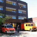 Die FF-Harburg übernahm die Aufgaben im Meldekopf mit dem GW-FM [SH]