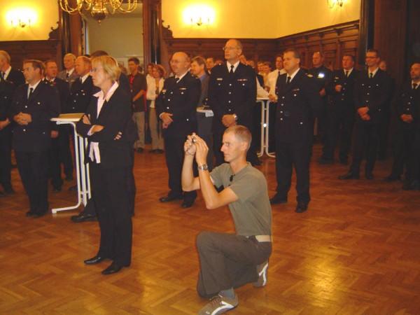 Die Feierstunde fand im Saal des Harburger Rathauses statt.